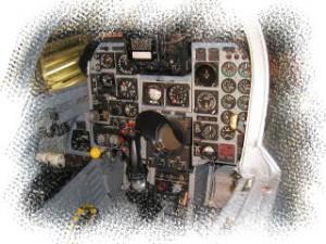 F104コクピット 浜松航空自衛隊