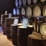 樽の原木の展示